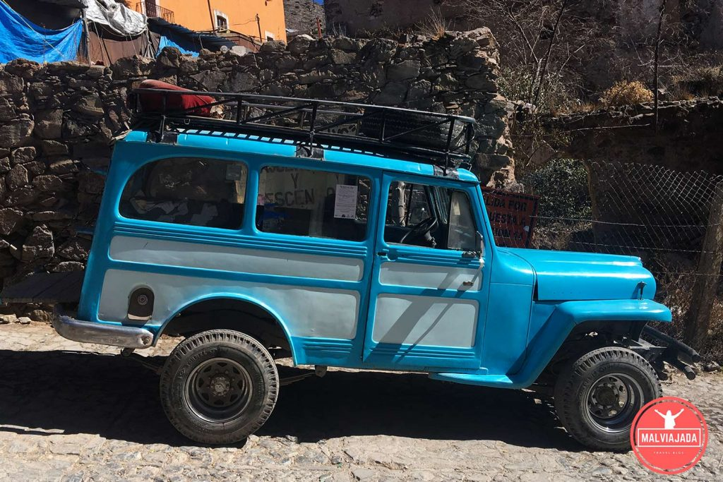 paseo en willys real de catorce