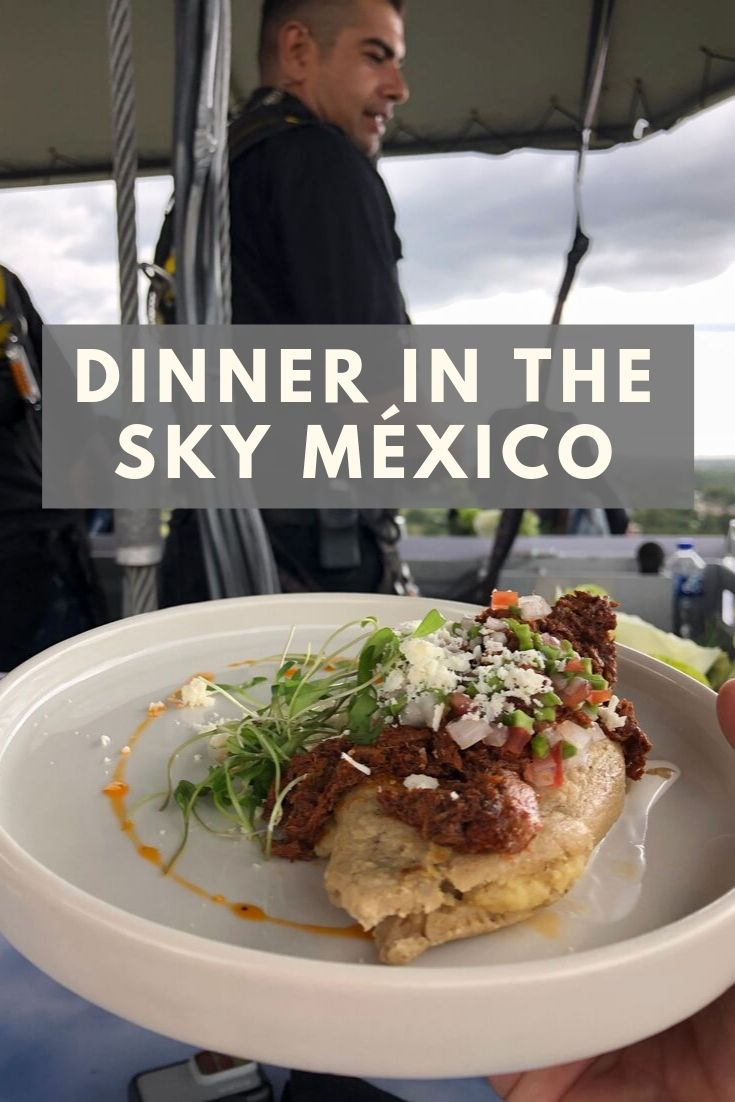 dinner in the sky teotihuacan